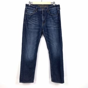 American Eagle Mens 33x32 Relaxed Straight Jeans